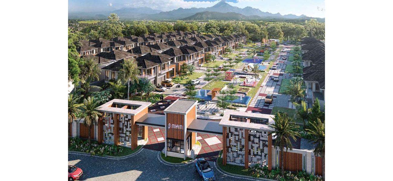 Residensial & Komersial Cluster Miami Tipe 15  di Bogor