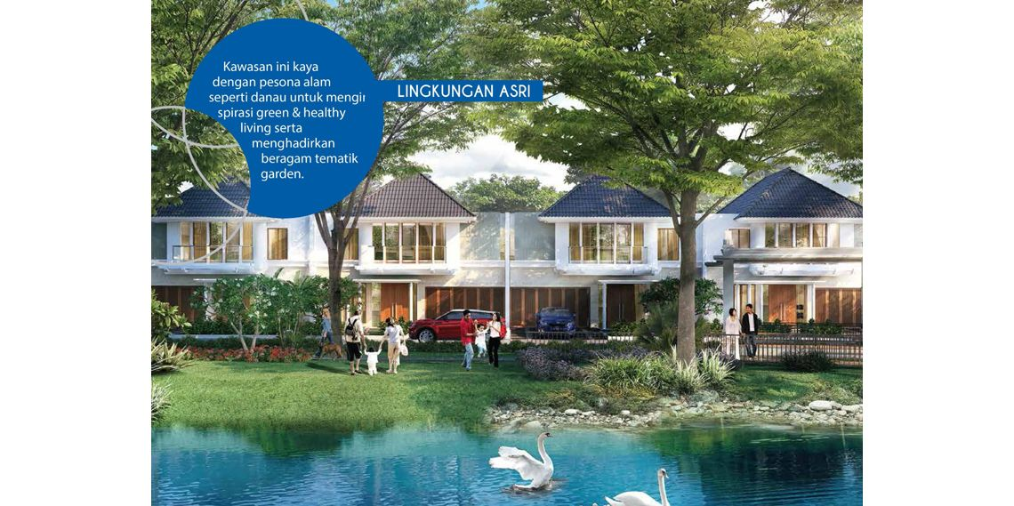 Residensial Citraland Cibubur Tipe Attaleya 2 di Bogor