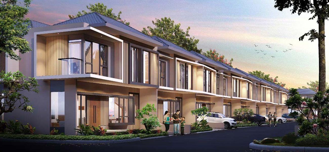 Residensial & Komersial Galuh Mas Karawang Tipe Thalassa 68 di Karawang