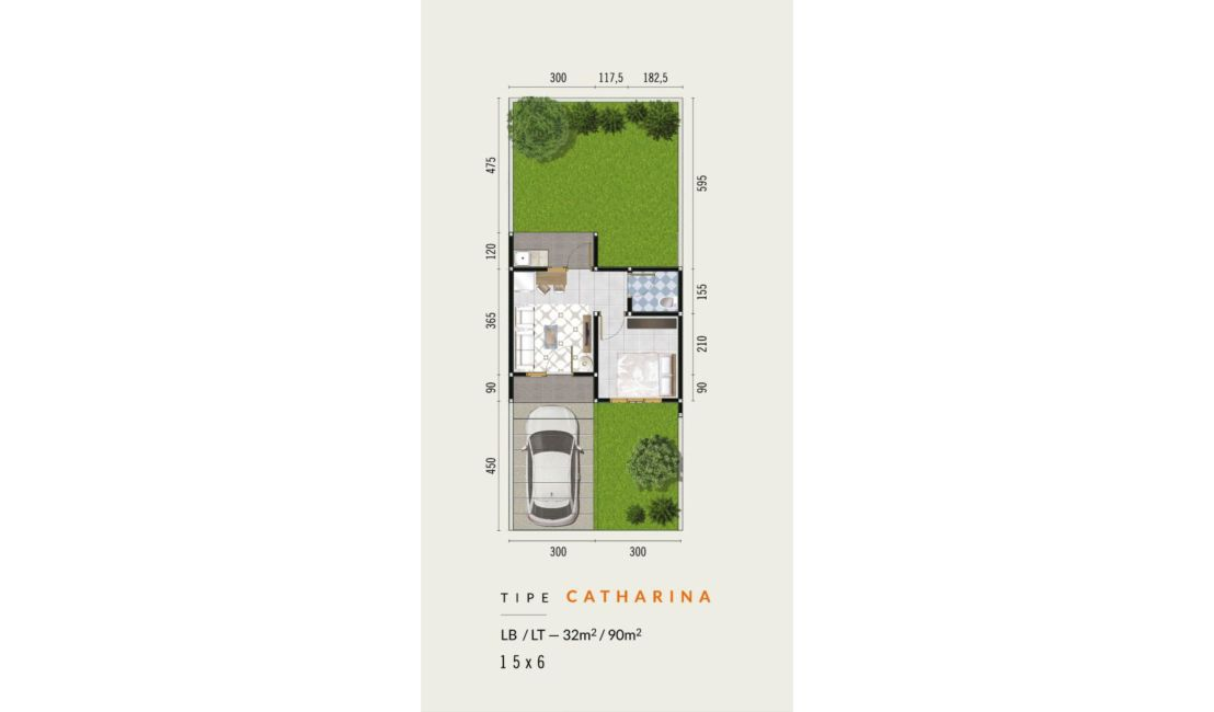Residensial CitraLand Manado - Zuiden Amsterdam Tipe Catharina di Manado