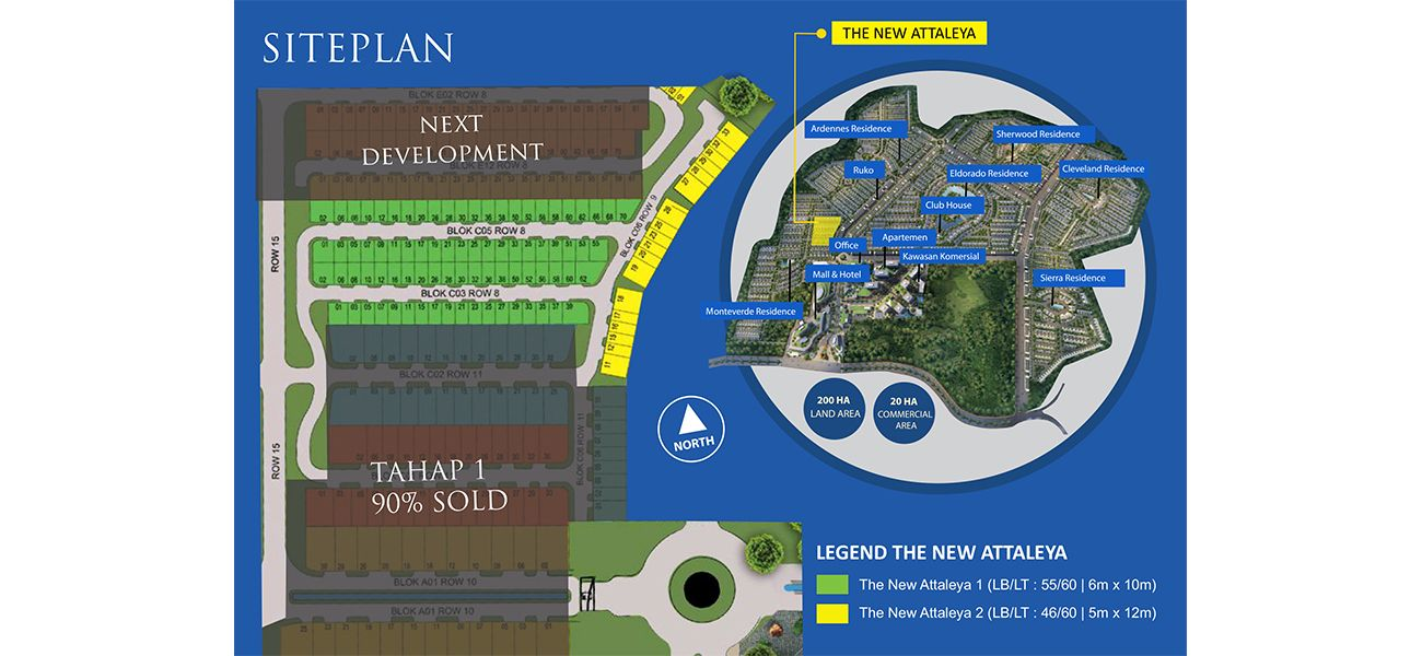 Residensial Citraland Cibubur Tipe New Attaleya 2 di Bogor