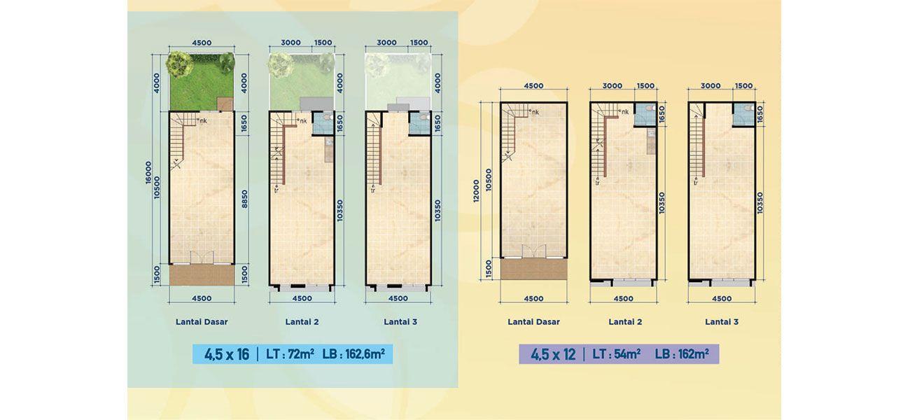 Komersial Ruko Pisa Grande Tipe 3 Lantai di Tangerang