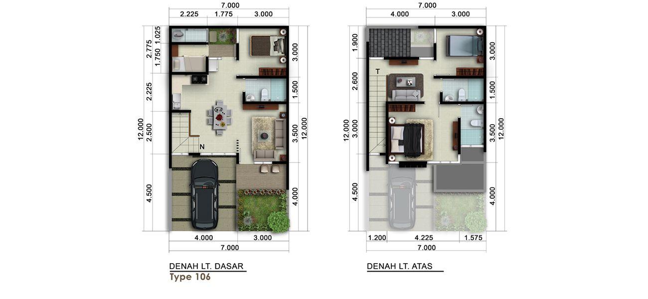 Residensial New Visalia at Kota Wisata Cibubur Tipe 106 di Bogor