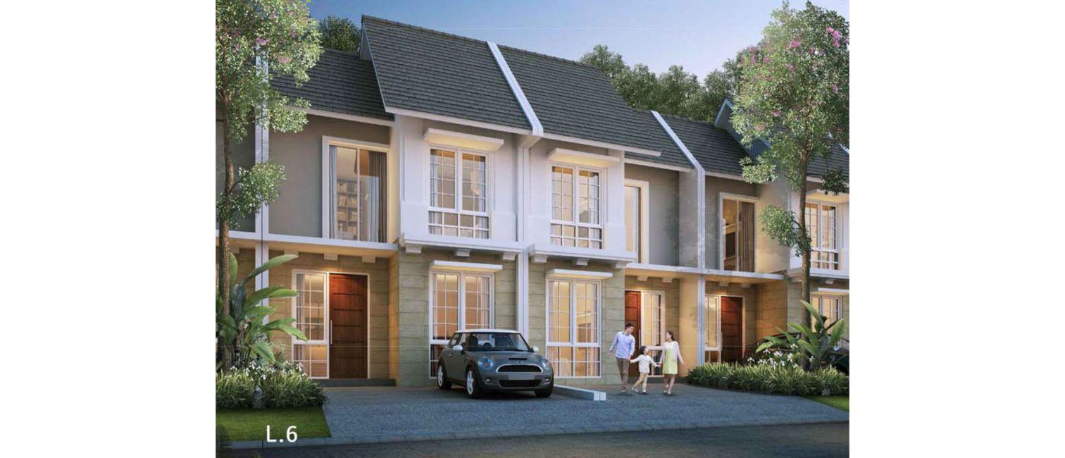 Residensial Cluster Clover Garden at Citra Gran Cibubur di Bekasi