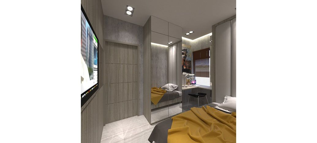 Residensial + Komersial Sakura Garden City Tipe 2 Bedroom di Jakarta Timur