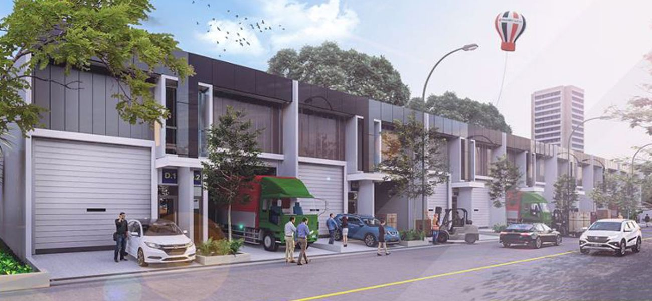 Komersial Tritonville di Tangerang