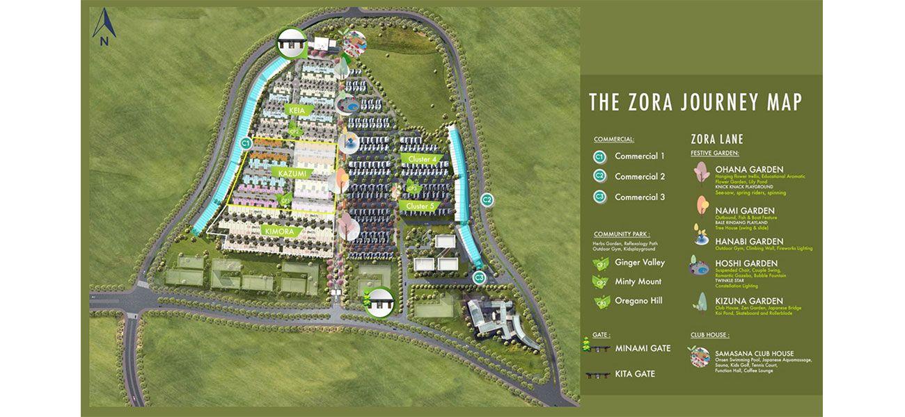 Residensial BSD City – The Zora di Tangerang