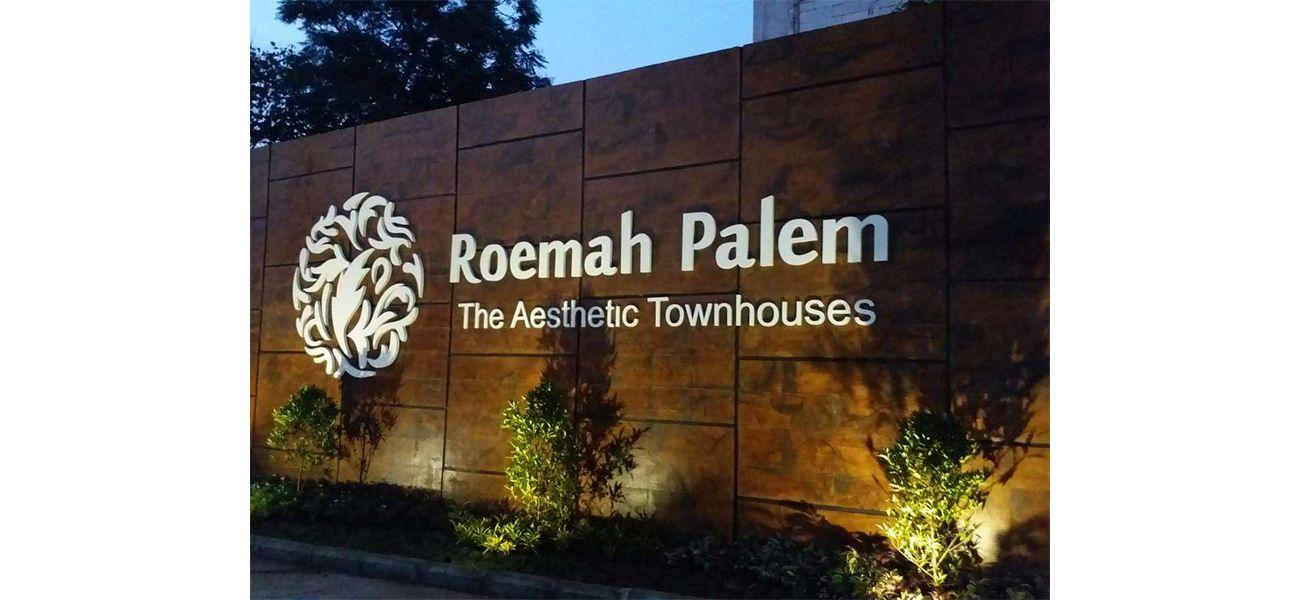 Residensial Roemah Palem di Jakarta Timur