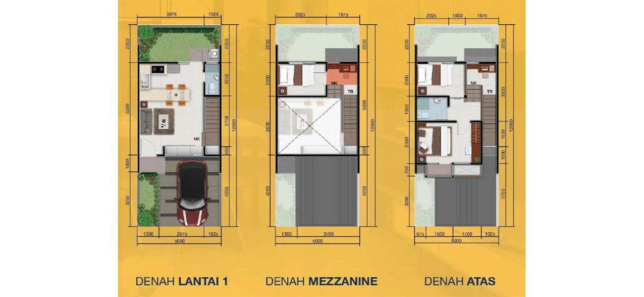 Residensial Lumihous Tipe 57 di Bogor