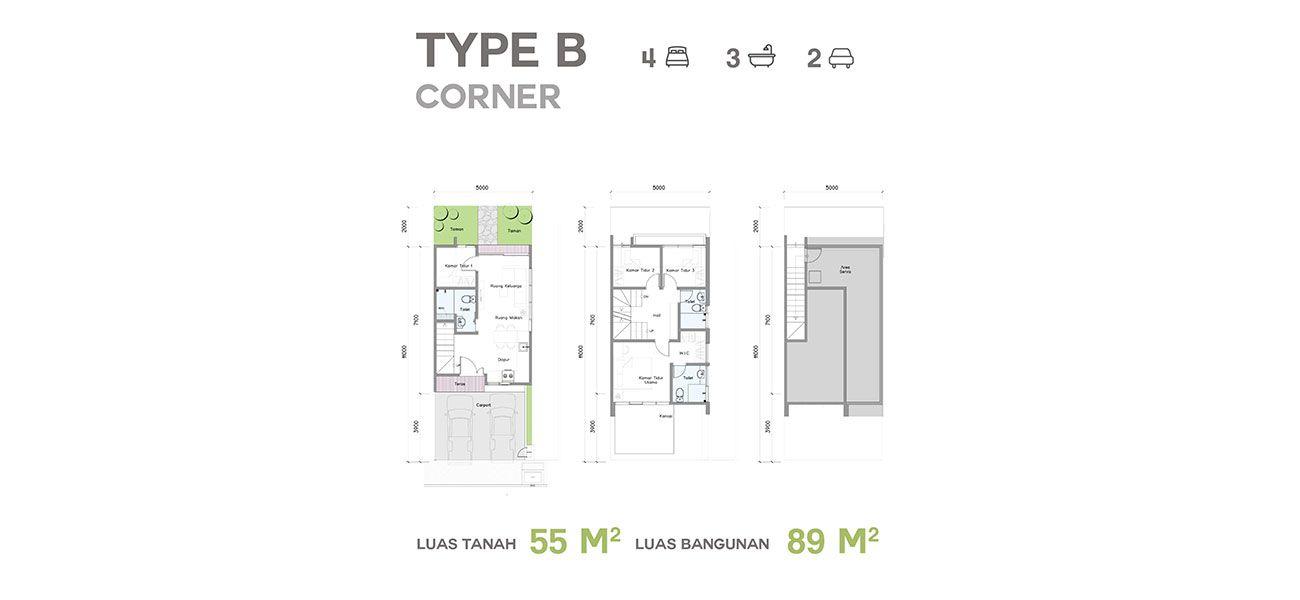 Residensial Talaga Bestari Tipe B  di Tangerang