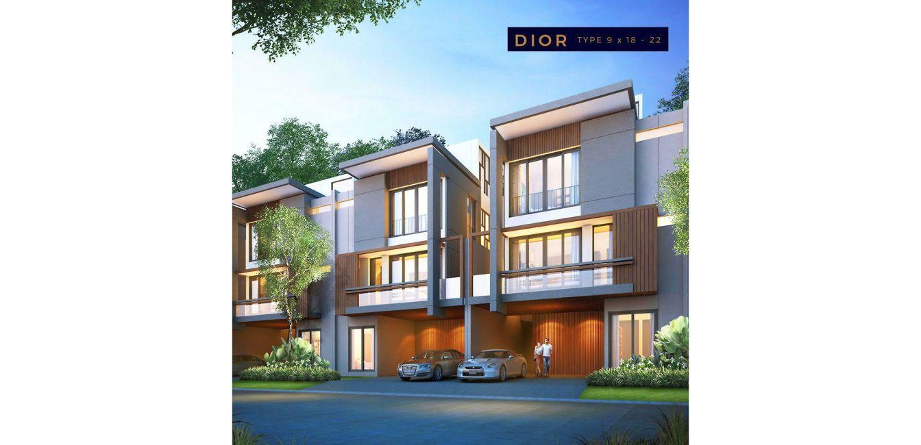 Residensial Perumahan Givency One di Medan